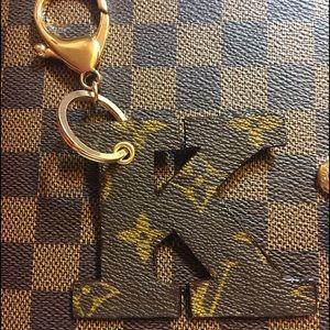 Louis Vuitton Accessories - Letter K charm