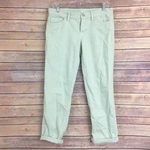LOFT Denim - Loft boyfriend jeans size 26/2 mint grn, (#176)