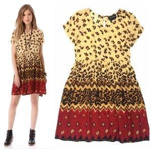 MINK PINK Animal Print Dress