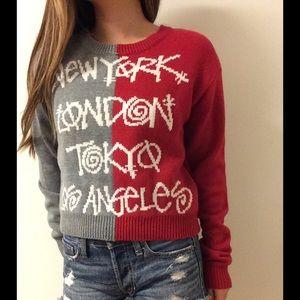 Stussy Sweaters - Stussy Two Tone Sweater