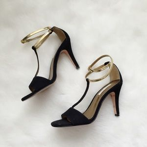 Cynthia Vincent Shoes - Cynthia Vincent Sexy Black Suede Heels✨