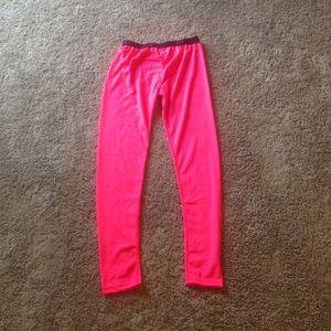 Champion girls pink thermal wear Large L Bottoms