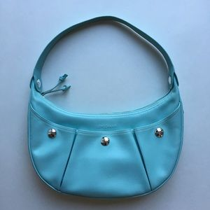 Longchamp Handbags - Longchamp Pearly Robin's Egg Blue Shoulder Bag