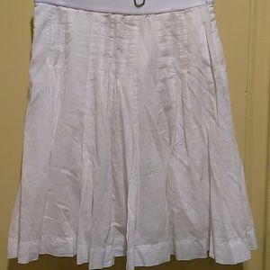 Margaret O'Leary Dresses & Skirts - Margaret O'Leary white cotton skirt