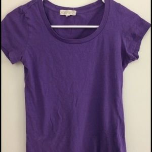 Purple T shirt