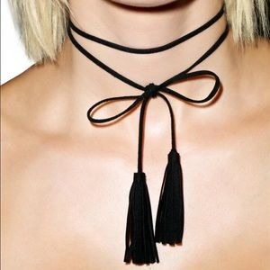 boutique Jewelry - tassel choker