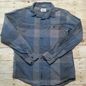 Ezekiel Other - Men's Ezekiel Button Up Plaid Shirt Size Medium
