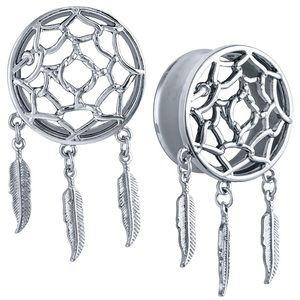 Hot Topic Jewelry - Dream catcher 7/16 plugs
