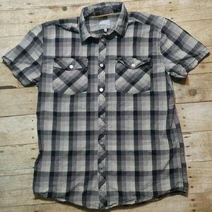Wesc Other - Men's WESC Plaid Button Up Shirt Size Medium
