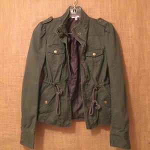 Candie's Jackets & Blazers - Olive Green Military Style Jacket