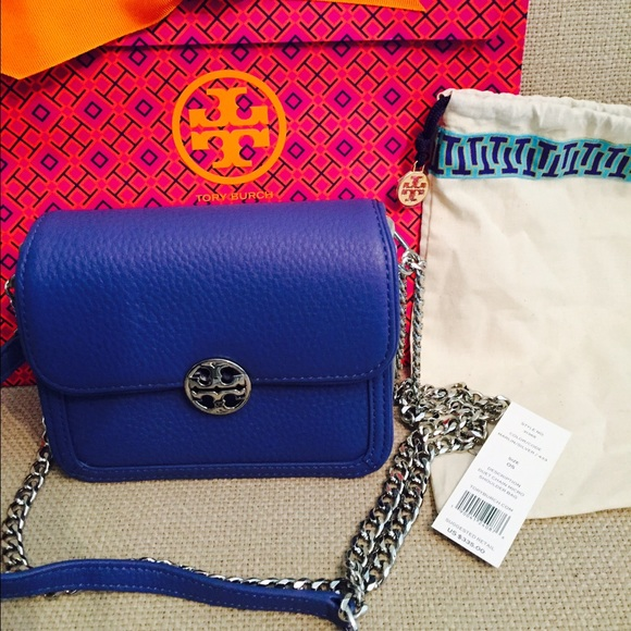 da97b2e82ab TORY BURCH DUET CHAIN CONVERTIBLE SHOULDER BAG