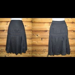 Lauren Ralph Lauren Dresses & Skirts - Ralph Lauren Fit and Flare Linen Lattice skirt