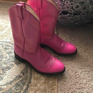 Laredo Shoes - 💕Laredo size 9 boots leather vamps & pink pink💕