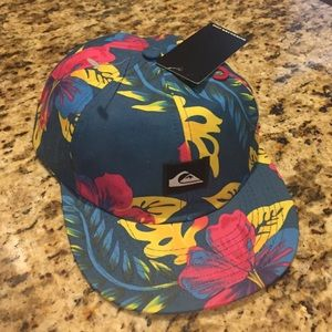 Quiksilver Other - NWT • Quiksilver Hat in Floral
