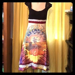 Dresses & Skirts - Grateful Dead Dress, handmade- Fall Tour dress