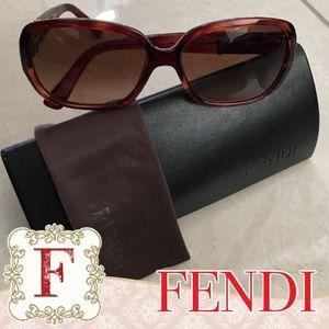 Fendi Accessories - 🕶💯Authentic FENDI Sunglasses Blonde Havana Style