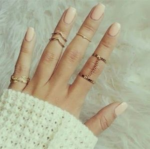 Jewelry - BOHO Chic Stacking midi Finger Knuckle rings