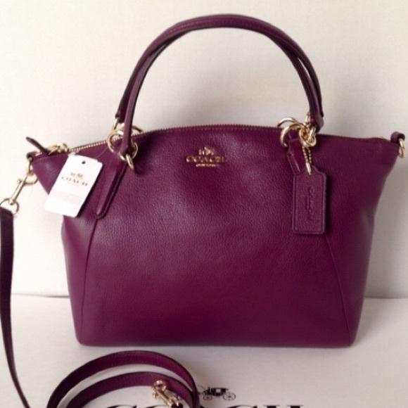 3e18d0feb0a5 SALE❤️NWT Coach Pebble Leather Kelsey Handbag