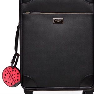 kate spade Accessories - Kate Spade lady bug luggage tag
