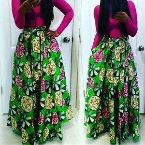 Beautiful Full Maxi Skirt