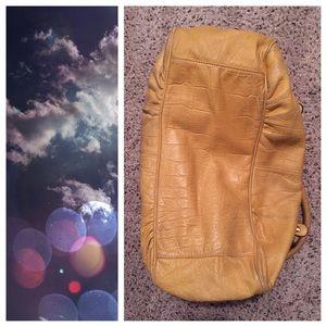 b. makowsky Bags - B. Makowsky Yellow Leather Purse