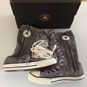Converse Other - Converse High Zipper size 2