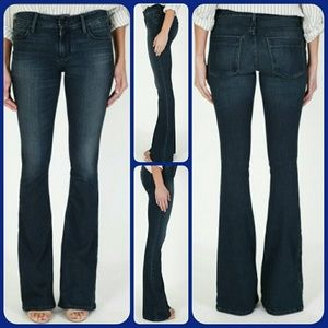 Black Orchid Denim - Black Orchid MIA Mid Rise SKINNY FLARE jeans Sz 30