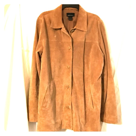 ❤️LAST CHANCE❤ Moda International Suede Jacket
