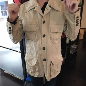 Gazzarrini Other - Tan Safari Jacket