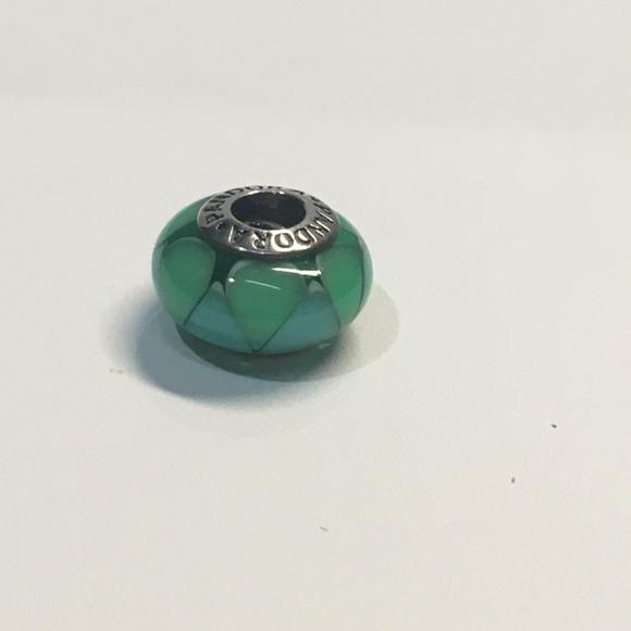 5f461623bc2 Pandora captivating blue green Murano glass charm. Pandora.  M_5888e01d78b31cd68203c810. M_5888e01f9c6fcfce7a03c60f.  M_5888e0282de5120ad700bbe6