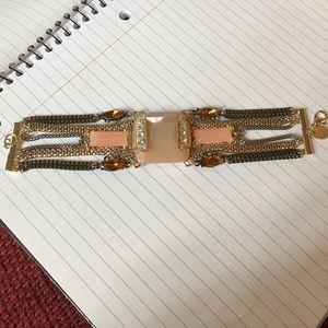 Arden B Jewelry - Beautiful statement bracelet neutral unique