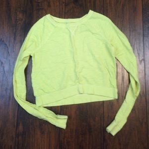 City Streets Tops - Neon cropped long sleeve