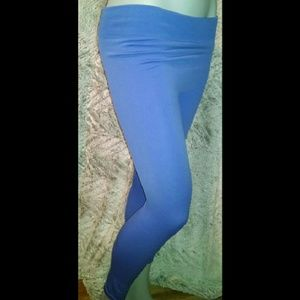 Pants - Light Blue Winter Leggings