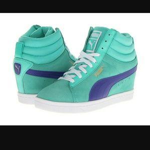 Puma Shoes - Puma Classic Wedge sneaker size 8