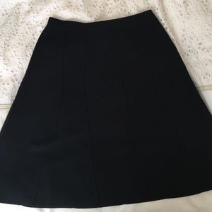 Eileen Fisher wool pull on skirt