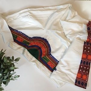 Other - African motif button up