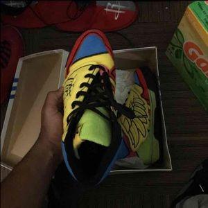 le adidas jeremy scott x ali vello poshmark multicolore