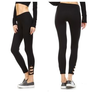 98727e57ad5a0 clmayfae Pants | Clearance Last1 Criss Cross Workout Leggings | Poshmark
