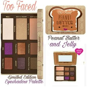 Too Faced Other - TOO FACED Peanut Butter and Jelly Palette NIB