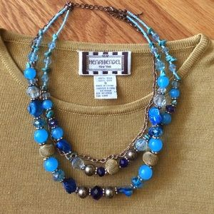 henri bendel Sweaters - 💎 Henri Bendel New York Vintage Silk Top Size Sm!