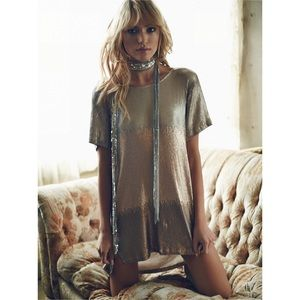 Free People Dresses & Skirts - {FREE PEOPLE} Drenched in Sequins Mini Dress, $168