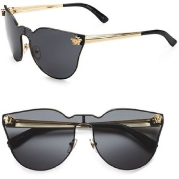 38fd801c4b0f Versace's January Jones inspired Medusa Sunglasses.  M_5888f8ef9c6fcf4fd2041c1d