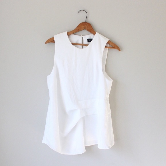46cba07ceb7 Topshop Tops - Topshop Tiered Gathered Sleeveless Blouse