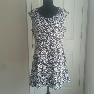 Fashion to Figure Dresses & Skirts - Plus size fit and flair dress leopard print
