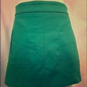 Zara Woman A-line Mini Skirt