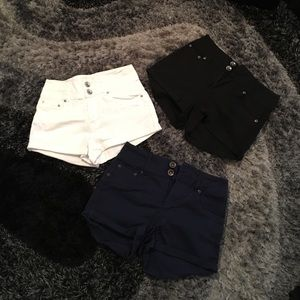 Dollhouse Pants - 🌼 DEAL 🌼 3 pairs of High waisted shorts