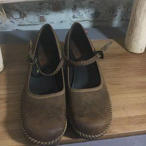Ecco Shoes - ECCO  MaryJane style wedges. Nwot