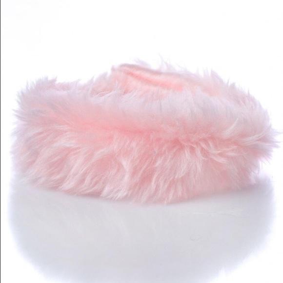 """dollskill Jewelry - 🦄Last One """"Fur Get it"""" Pink Fur Choker 🦄"""
