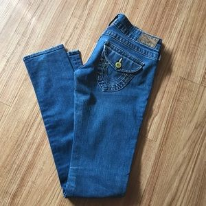 Makers of True Originals Denim - SUPER SKINNY low low rise True Religion