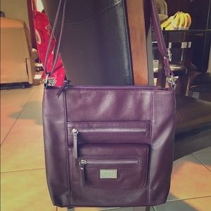 Tignanello Purple Crossbody Bag